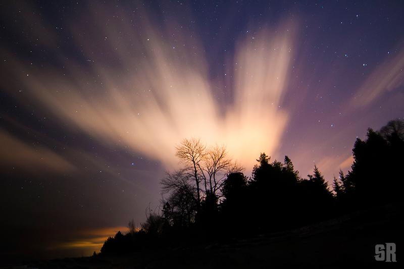 Burst of Night Sky