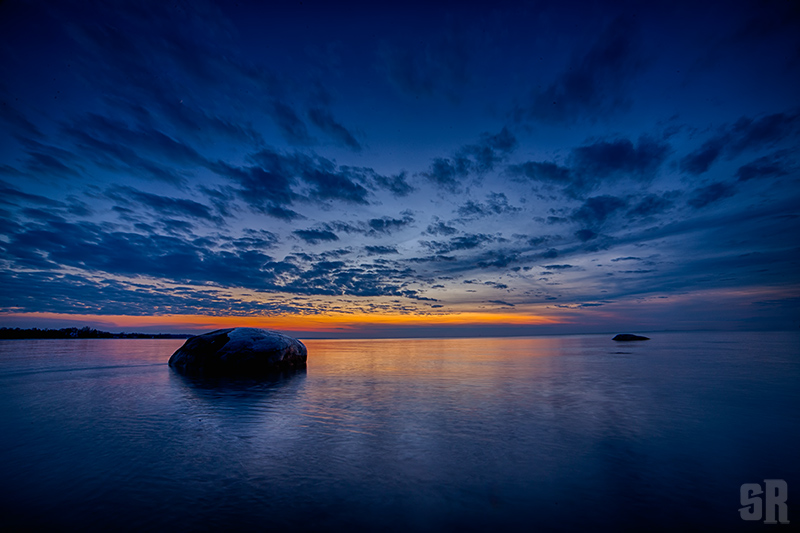 Peaches & Blue Dreams Sunset