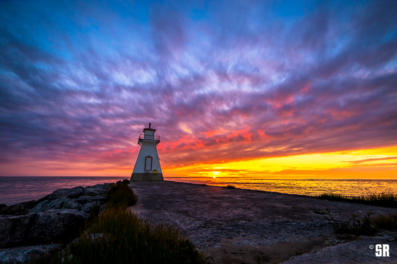 Quot Explosion On The Range Quot Lake Huron Sunset With