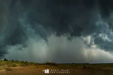 Scream - Photo of Storm over Sauble Beach Ontario near Bruce Peninsula