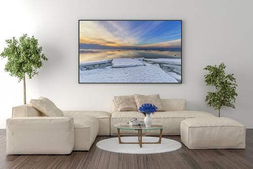 Pastel Moments Interior Framed Photo