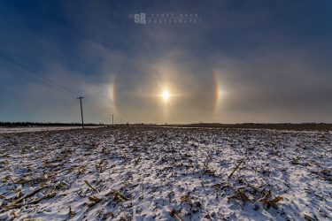 Port Elgin Winter Sun Halo