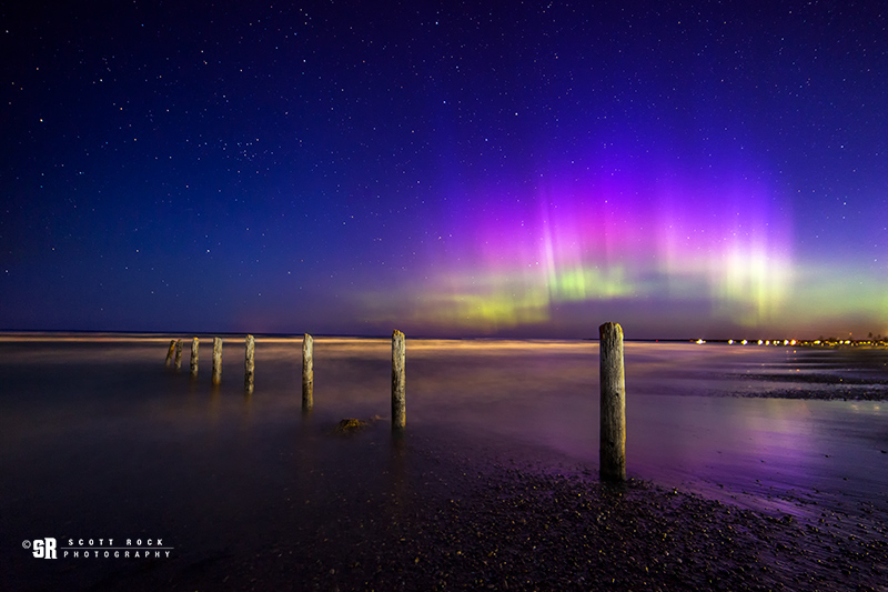 Northern Lights over Sauble Beach Ontario