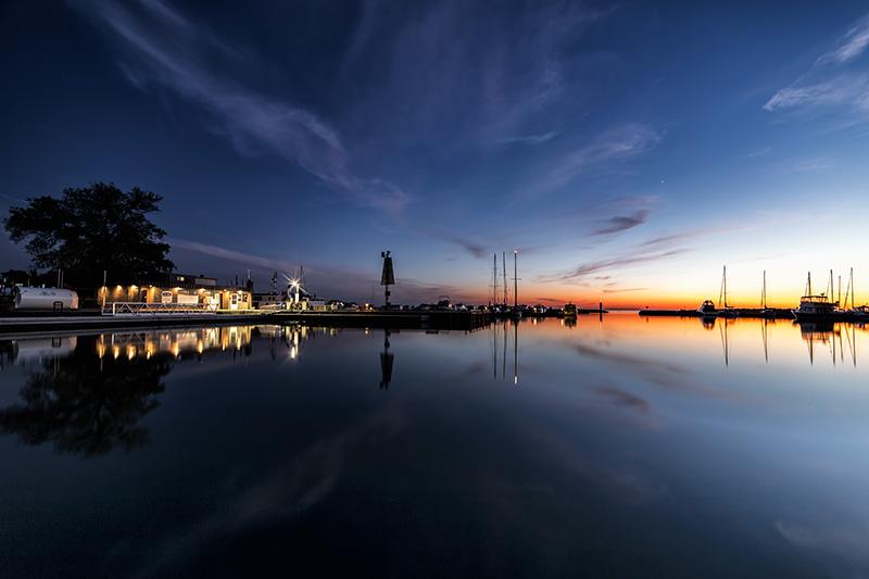 Port Elgin Harbour Summer Twilight