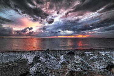 Lake Huron Port Elgin Sunset