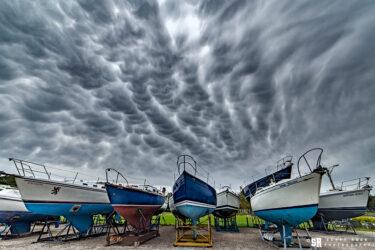 Mammatus Starboard - mammatus clouds clouds over port elgin harbour