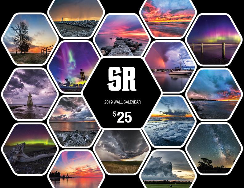 Scott Rock Photography 2019 Wall Calendar